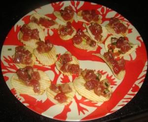 Tuna Tartare Chips