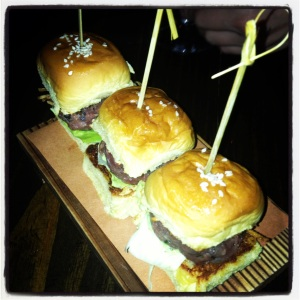 Steak Tartare Sliders